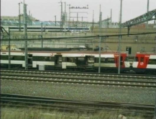 Foto 1.- Coches 4 y 3 del tren de Atocha