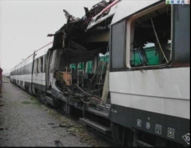Foto 20.- Coches 6, 5 y 4 del tren de Santa Eugenia en Vicálvaro