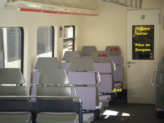Interior del coche 5 de Santa Eugenia