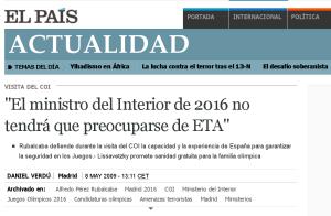 La profecía de Rubalcaba