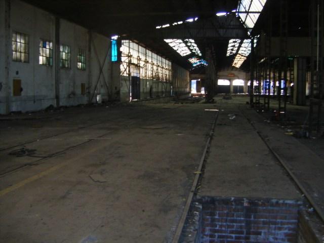 Interior de una de las naves de Tafesa el 16 de septiembre de 2013