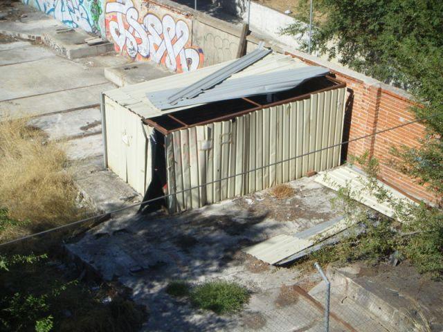 El cobertizo el 16 de septiembre de 2013