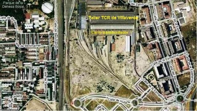 El taller TCR de Villaverde y su entorno