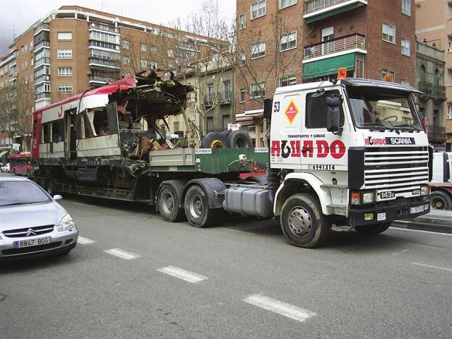Ya en la avenida Ciudad de Barcelona, se acaban las grandes dificultades que se encontraban en el tramo anterior