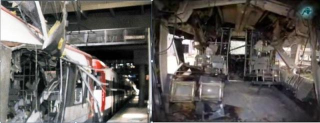Comparación del estado del coche 4 entre Atocha y Santa Catalina
