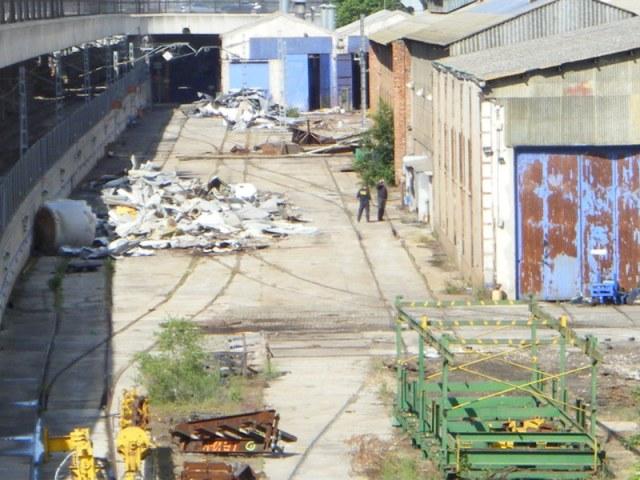 Tafesa retira material del taller el 21 de mayo