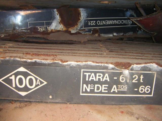 Inscripción en el suelo del foco de Santa Eugenia el 16 de septiembre de 2013