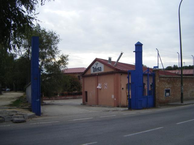 22 de octubre. Desaparecen las puertas del taller