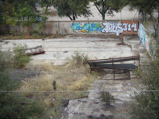 De las dos piezas que quedaban, el 23 de octubre ha desaparecido únicamente la pieza más próxima al foco