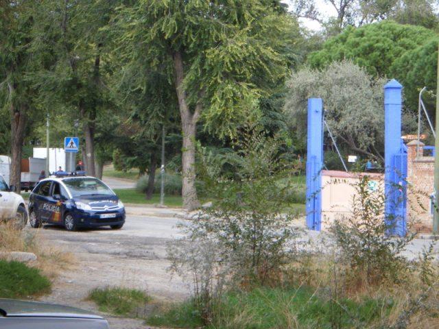 El 23 de octubre hay vigilancia policial ante la puerta de Tafesa