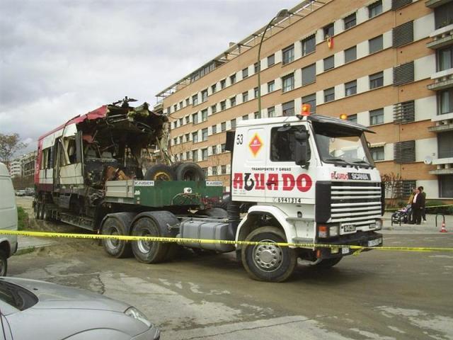 El camión gira en el punto 3, esquina de la calle Cocheras