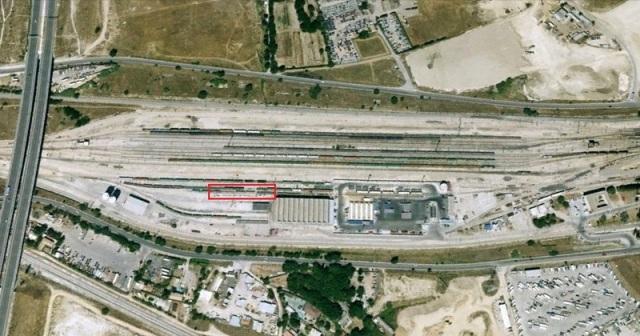 Lugar de Vicálvaro Clasificación en el que estuvo apartado el tren de Santa Eugenia