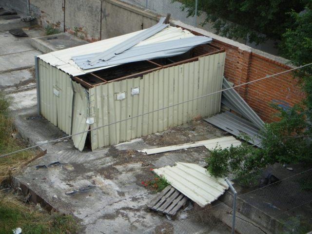 El cobertizo el 14 de mayo de 2013