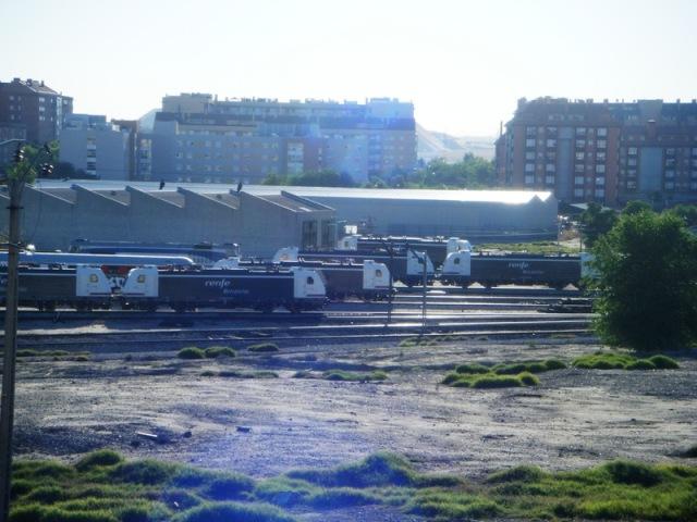La nave de Téllez, cerrada, el 2 de junio de 2009