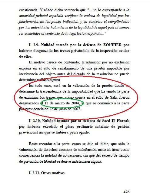Documento 8.- Folio 476 de la sentencia del 11-M