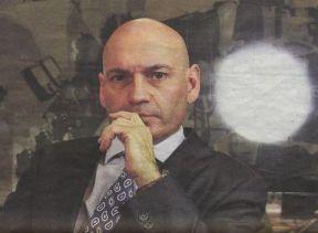 El juez Javier Gómez durante su prsencia en El Mundo